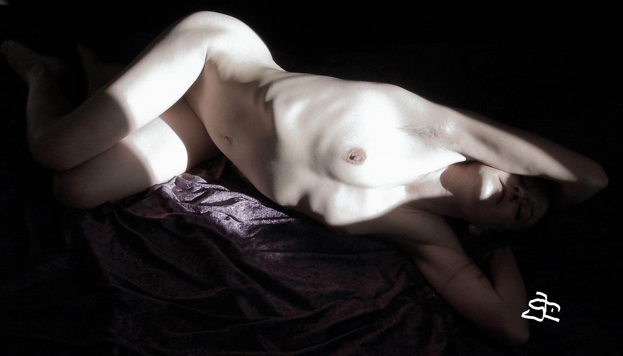 PURPLE LADY. by Joergen Hansen