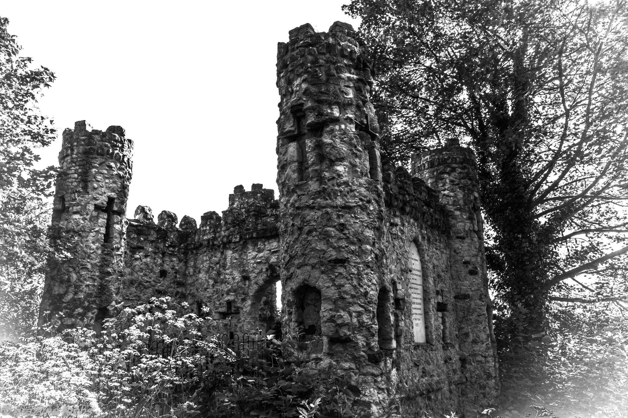 Reigate Castle by Grażyna Fuchs