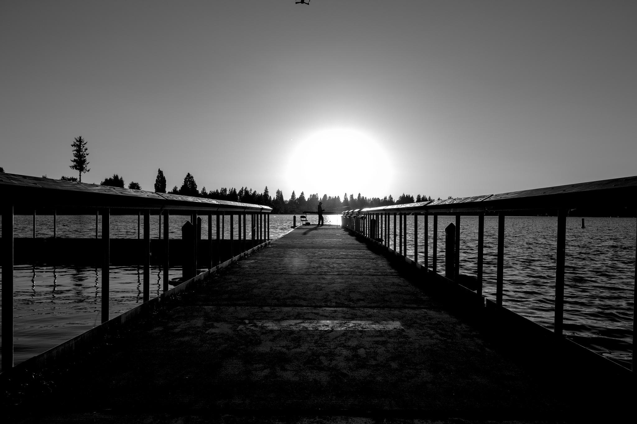 front of the sun by BaBak Heshmatsaran