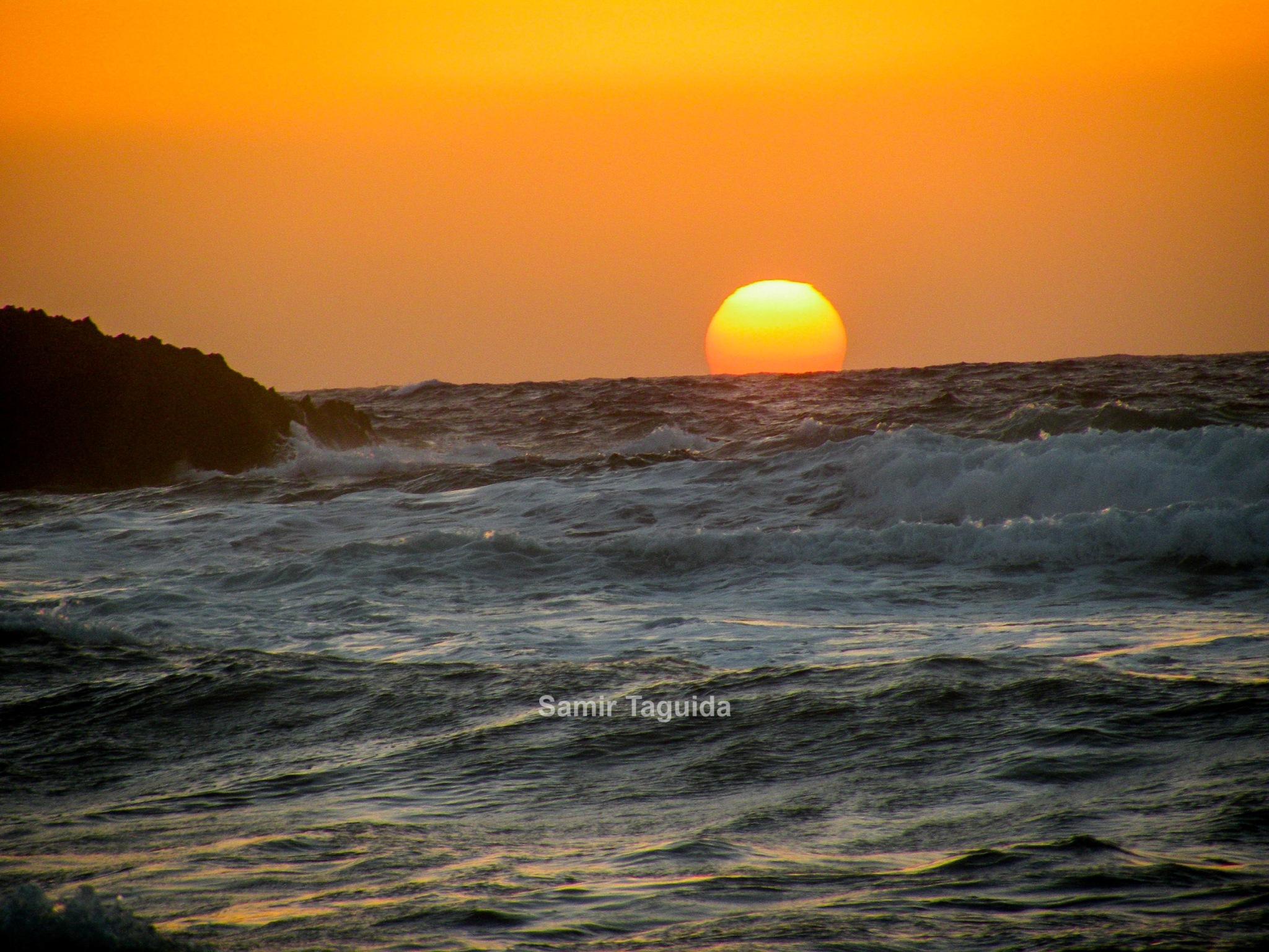 sunset by Samir Taguida