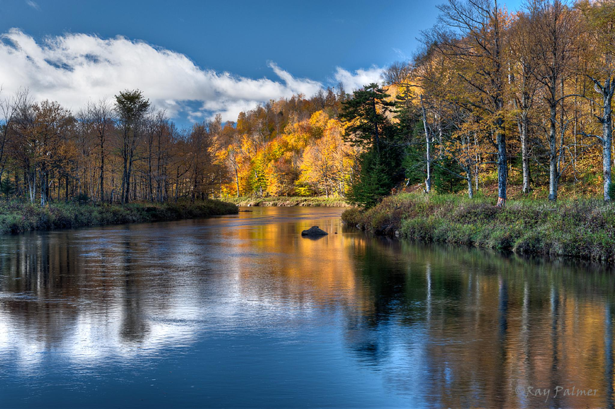 Ausable River Chiaroscuro by Ray Palmer