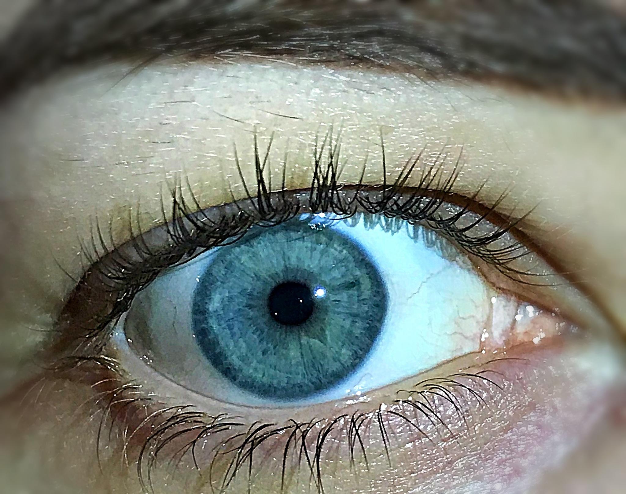Blue eye by Kirsty tucker