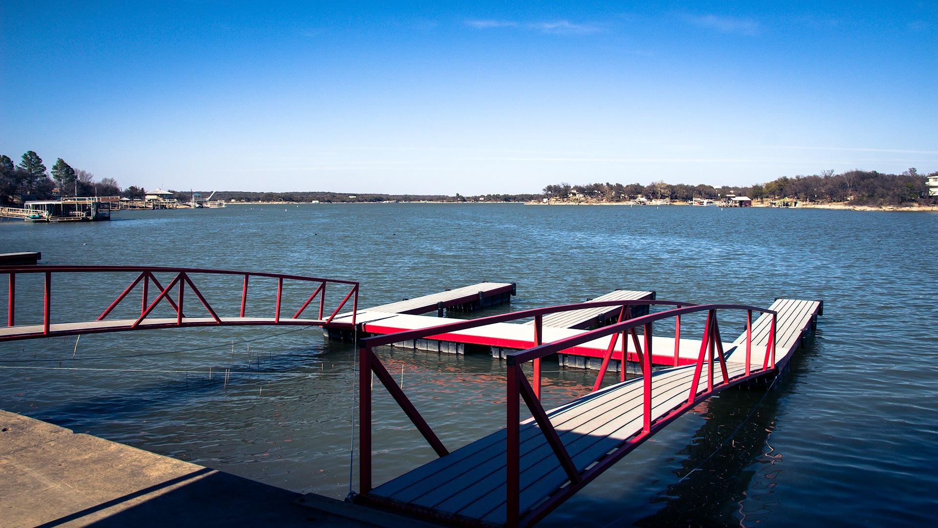 Boat Docks by Lane L Gibson