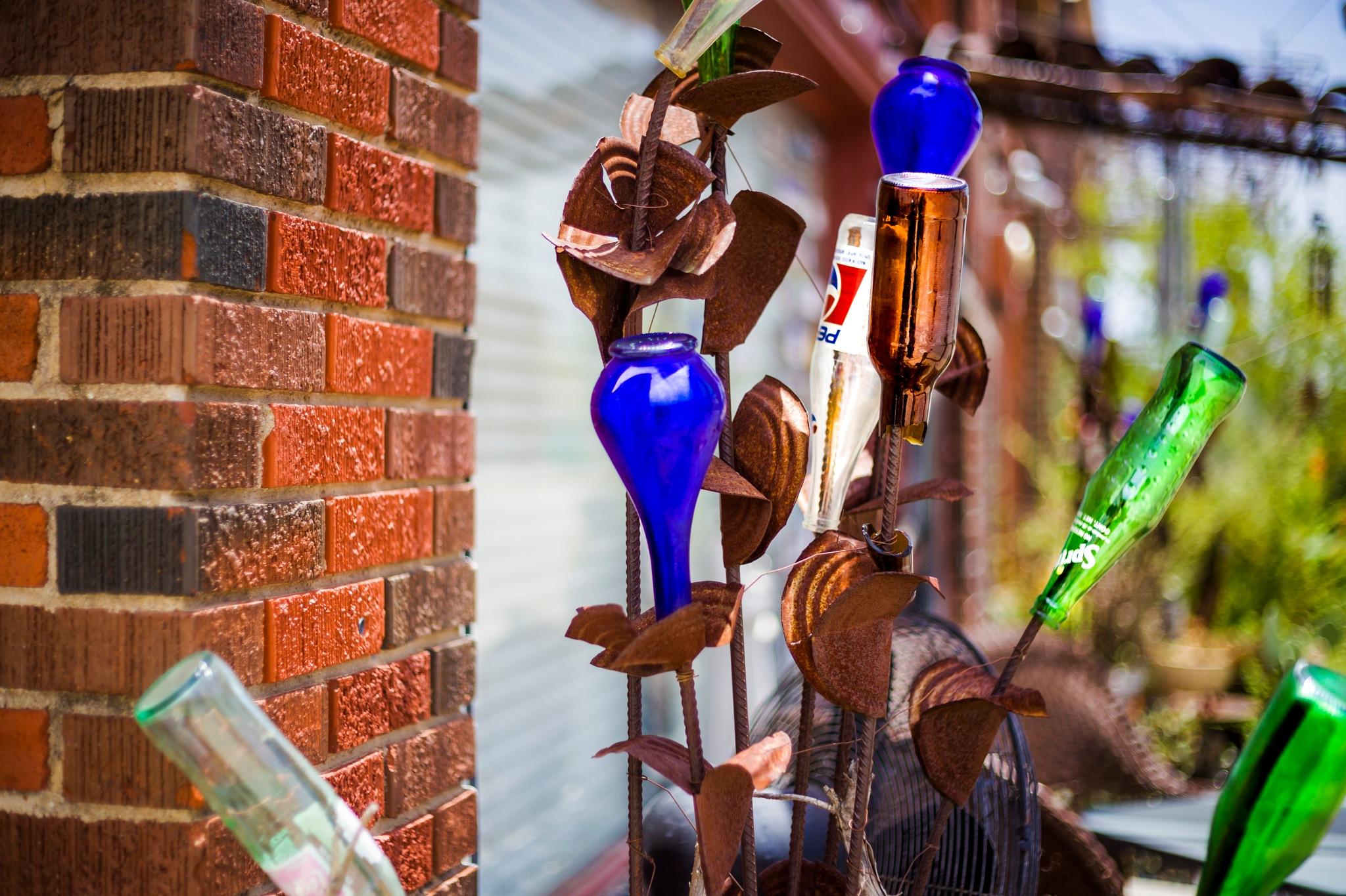 Bottles by Lane L Gibson
