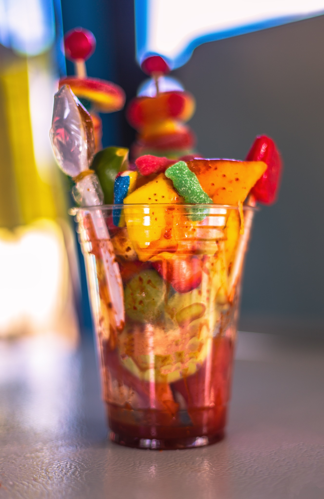 Fruit Cup by Lane L Gibson