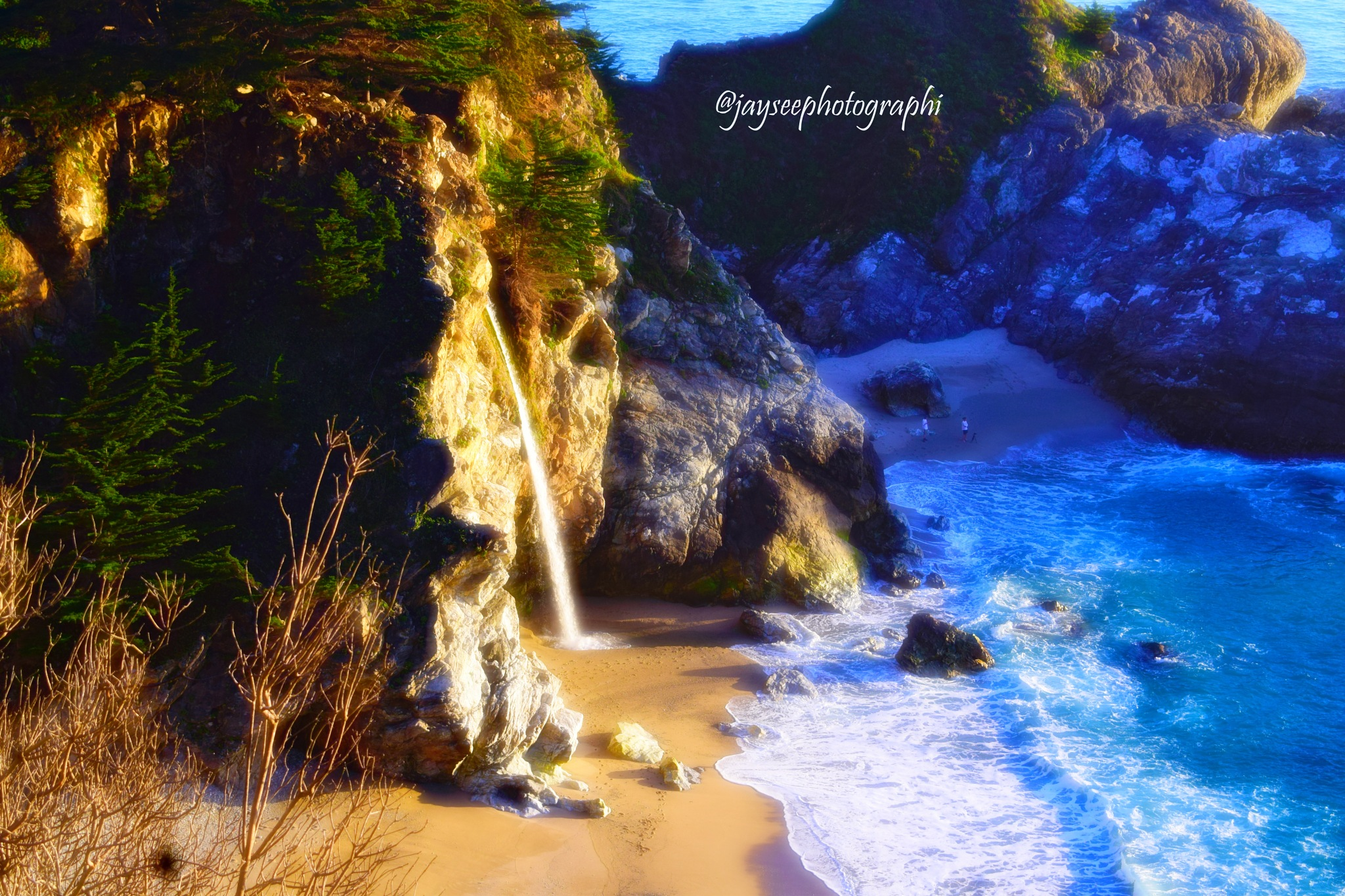 McWay Falls by Jay See Photographi