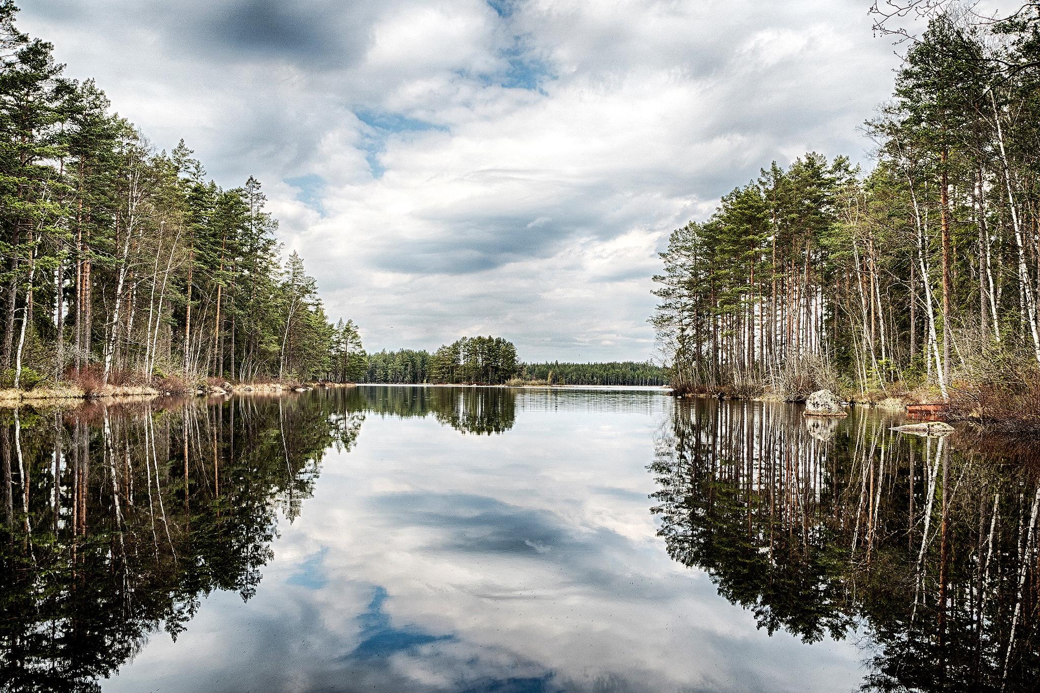 Hyllsjön / Shelflake by Sjunne