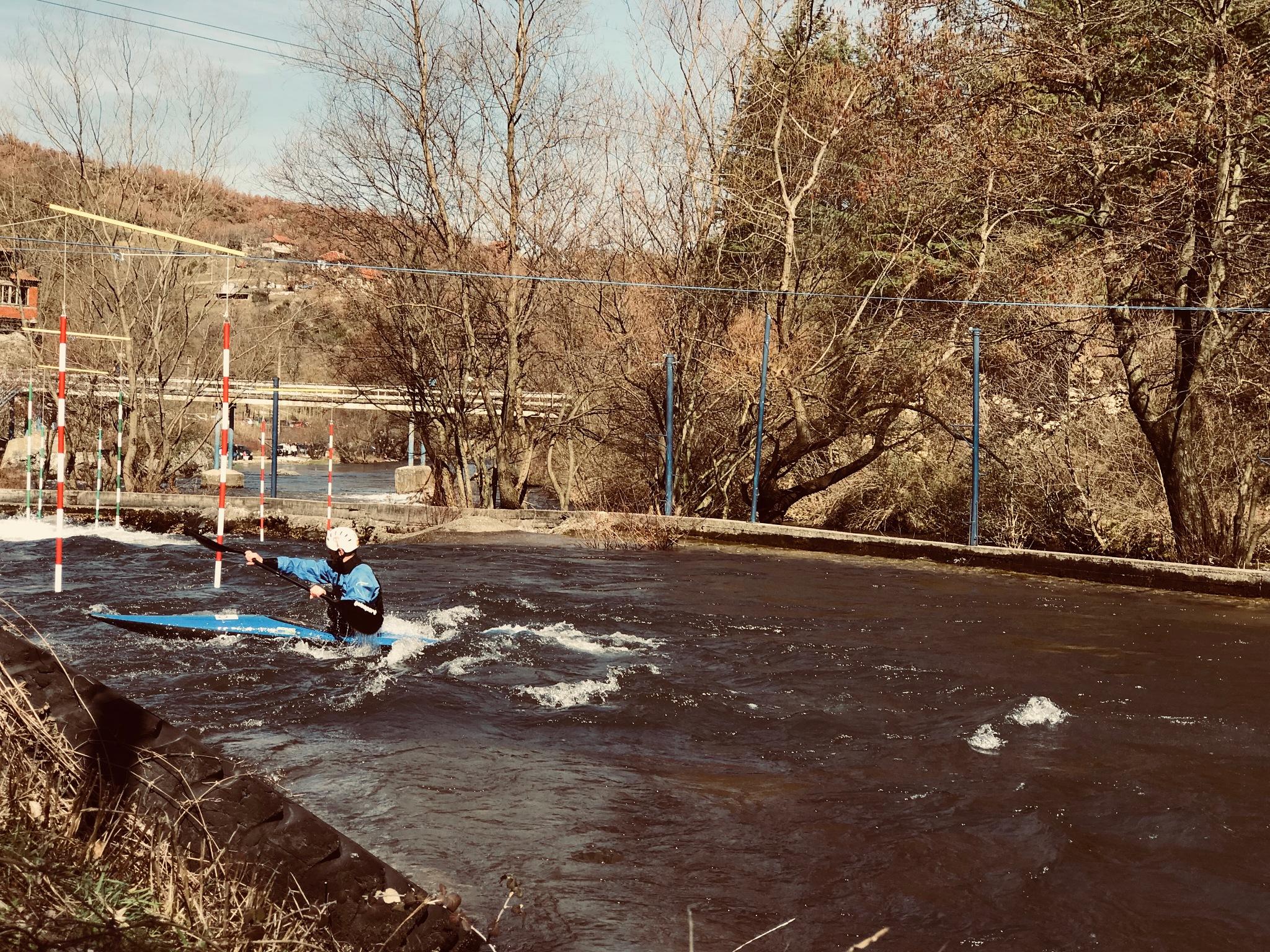 Kayaking on a sunny day  by Vladimir Bocevski