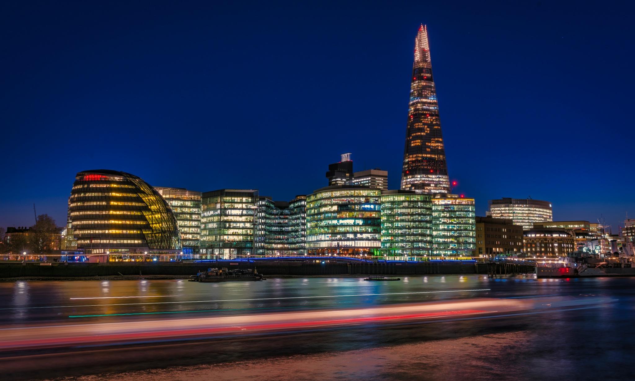 The Shard London by Steve Deakin