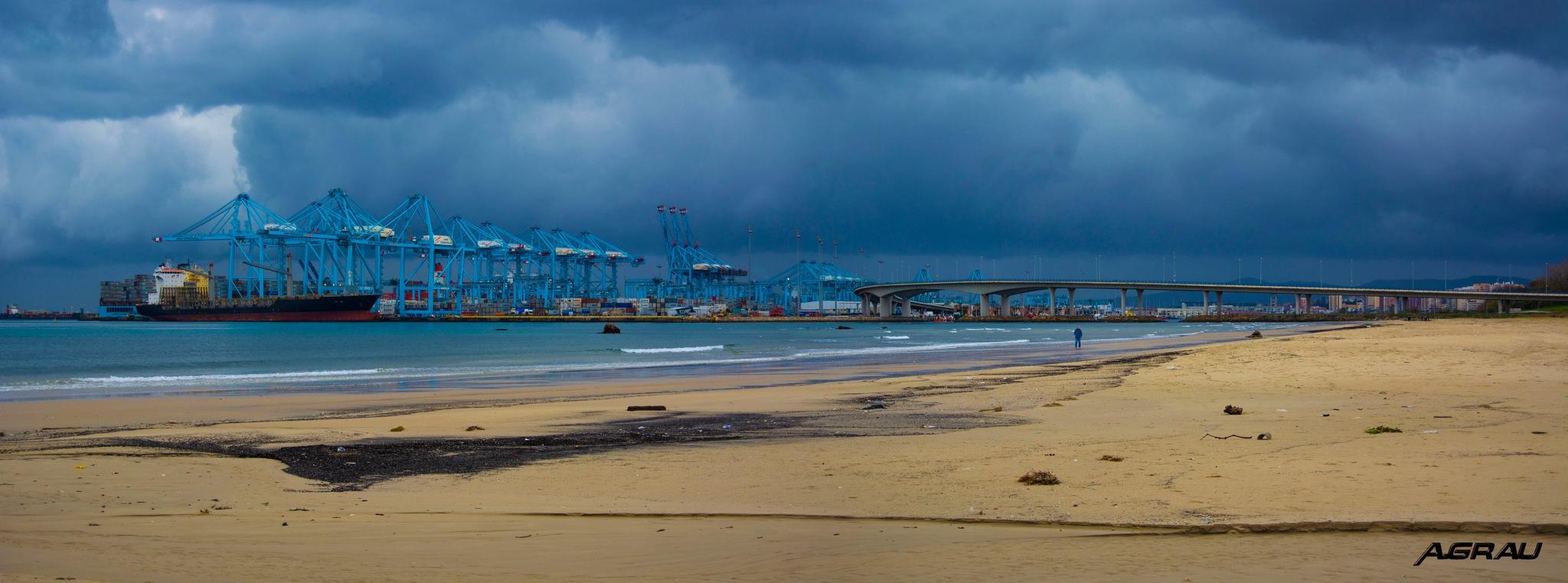 Algeciras - Puerto by Alberto grau