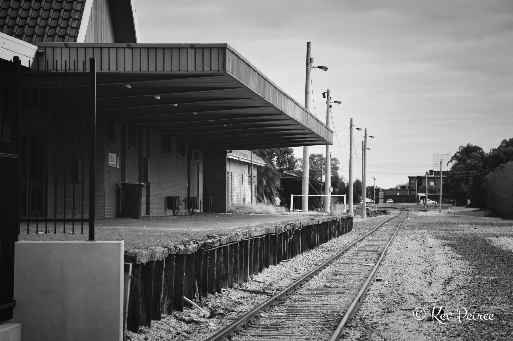 Mildura Rail Station by Kev Peirce
