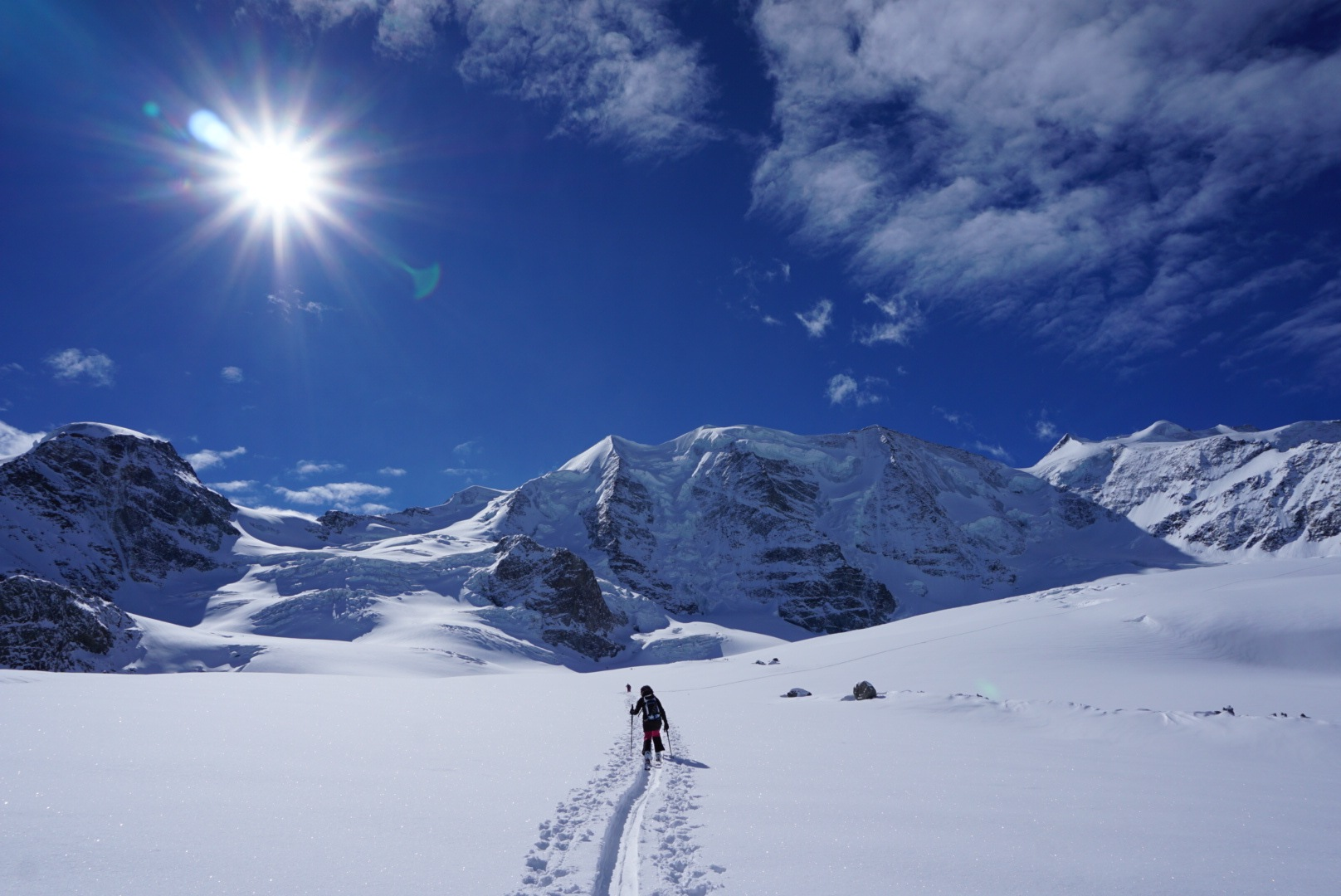 On the Pers glacier....  by Stef