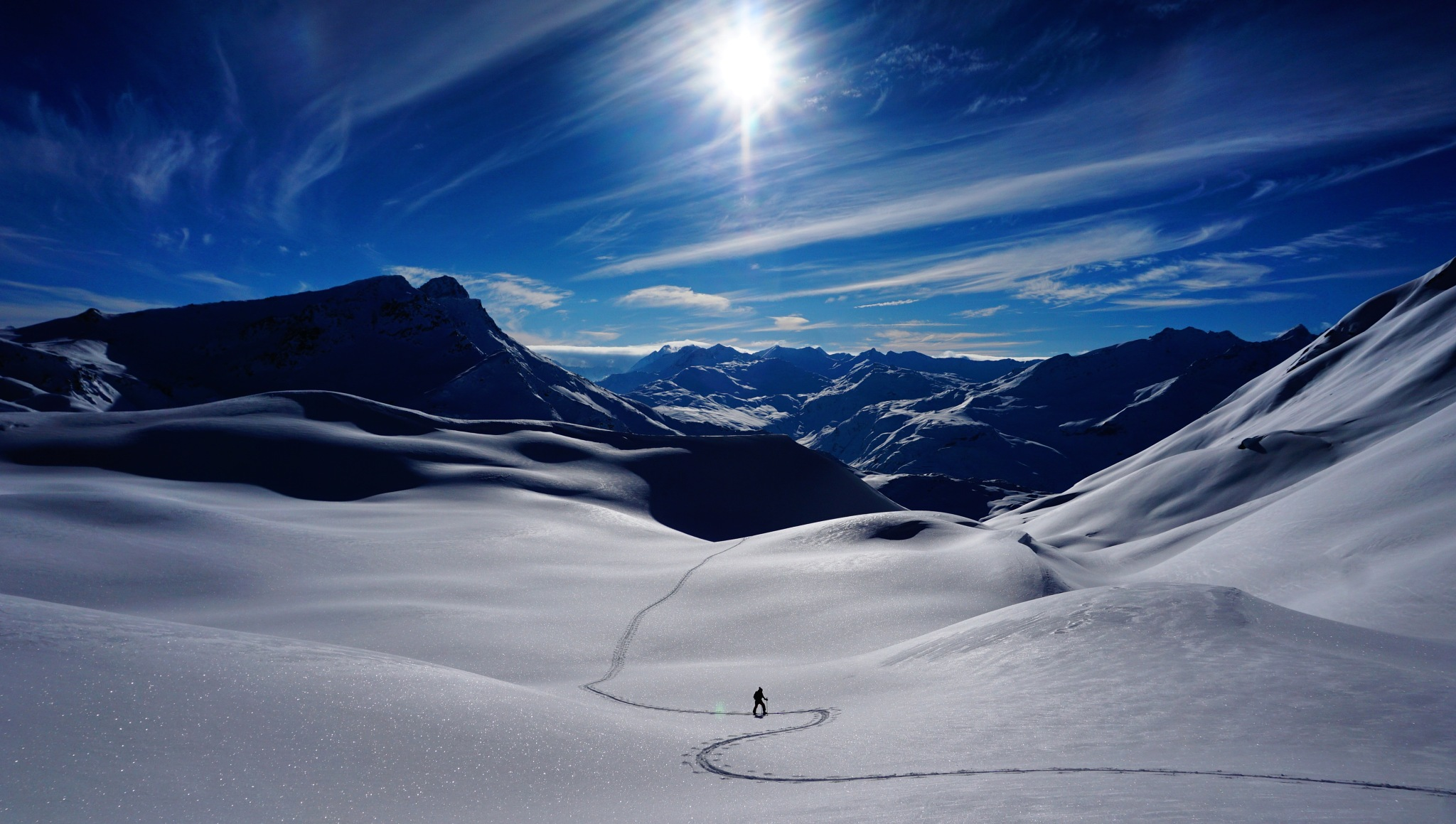 Skitouring  by Stef