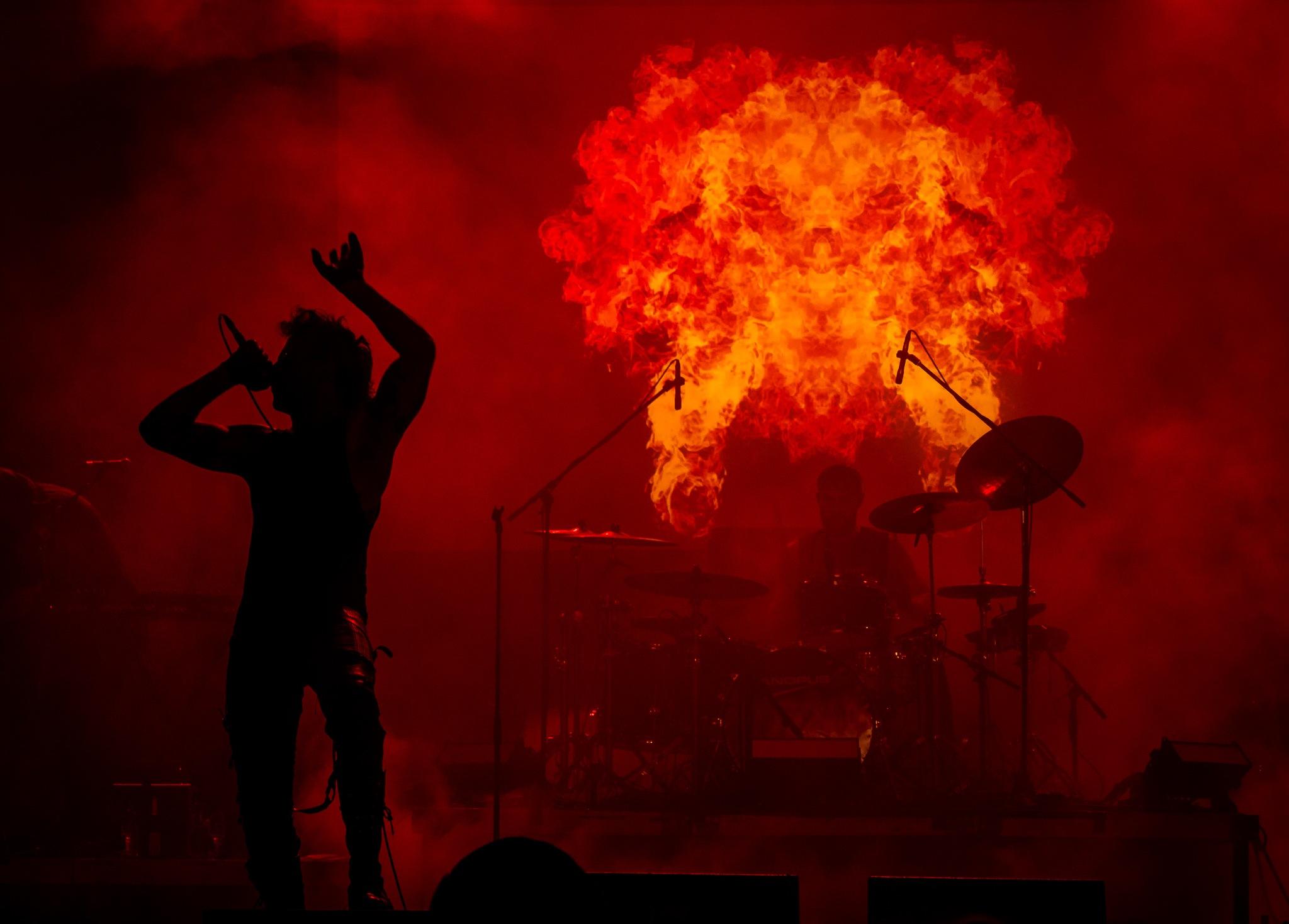 3TEETH Konzert zum Wave-Gotik-Treffen by Marc Rothe