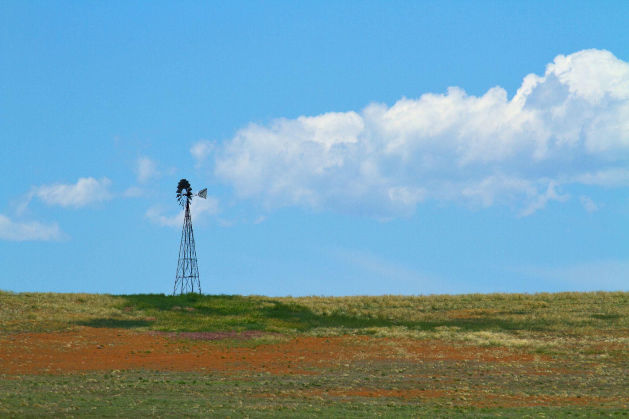 Prairie Sky by Jim Garrison