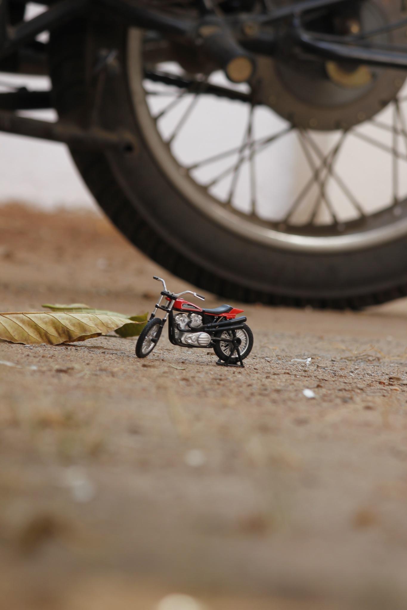 Honey, I shrunk my motorcycle by Rohit Sastry