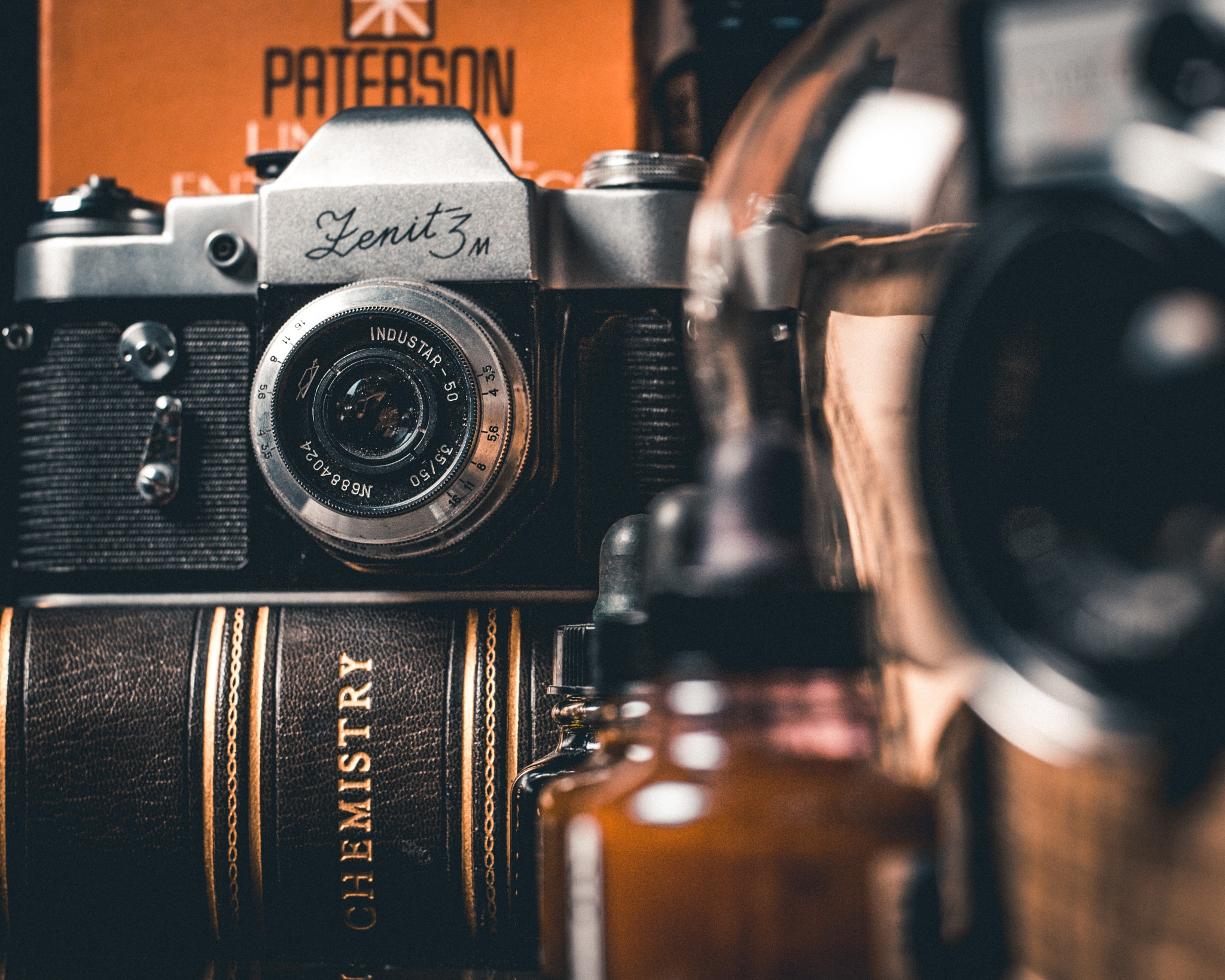 In love with old cameras and close shots by Marián Peciar