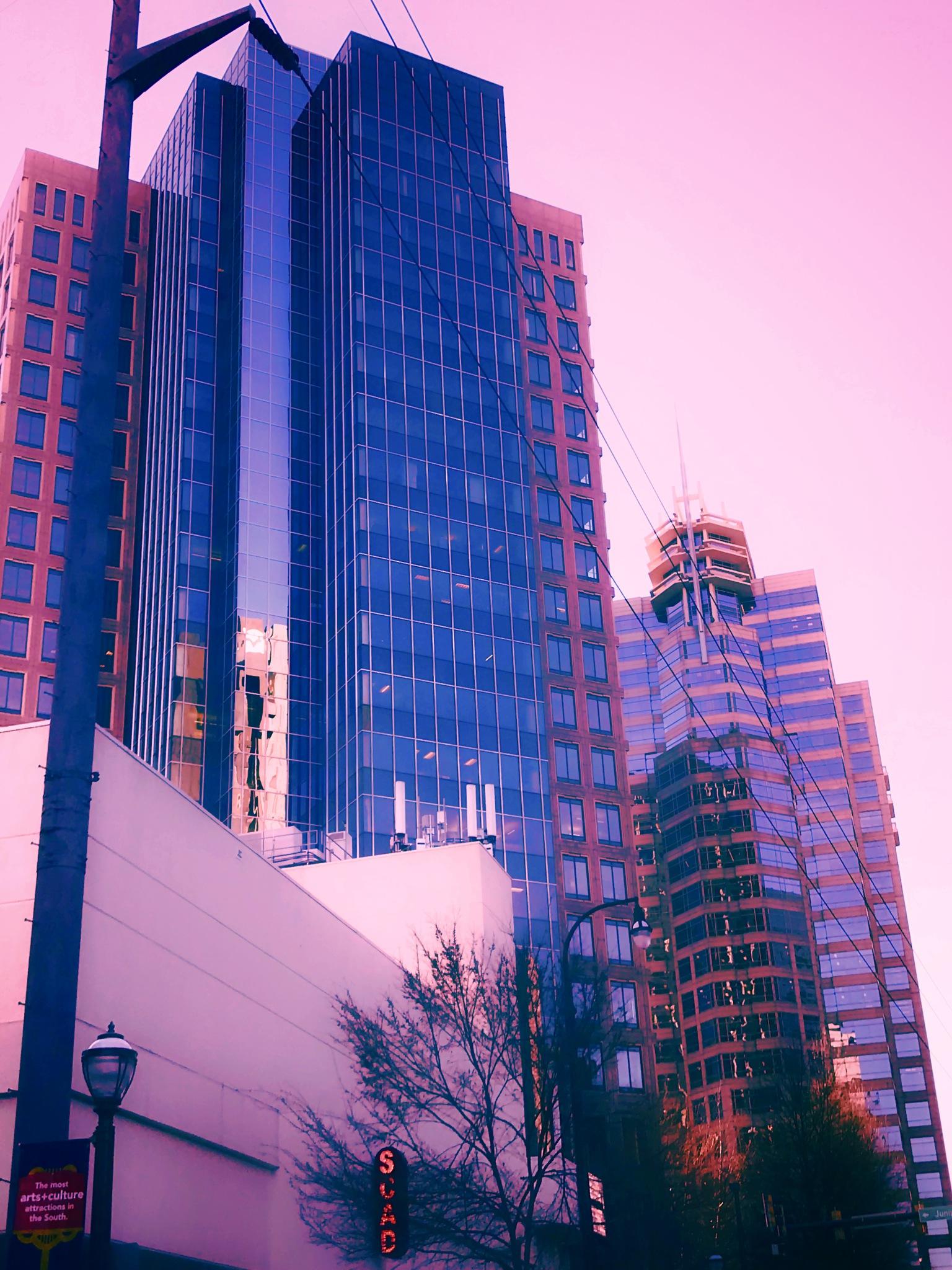 Downtown Atlanta by Barrett Bear Baker