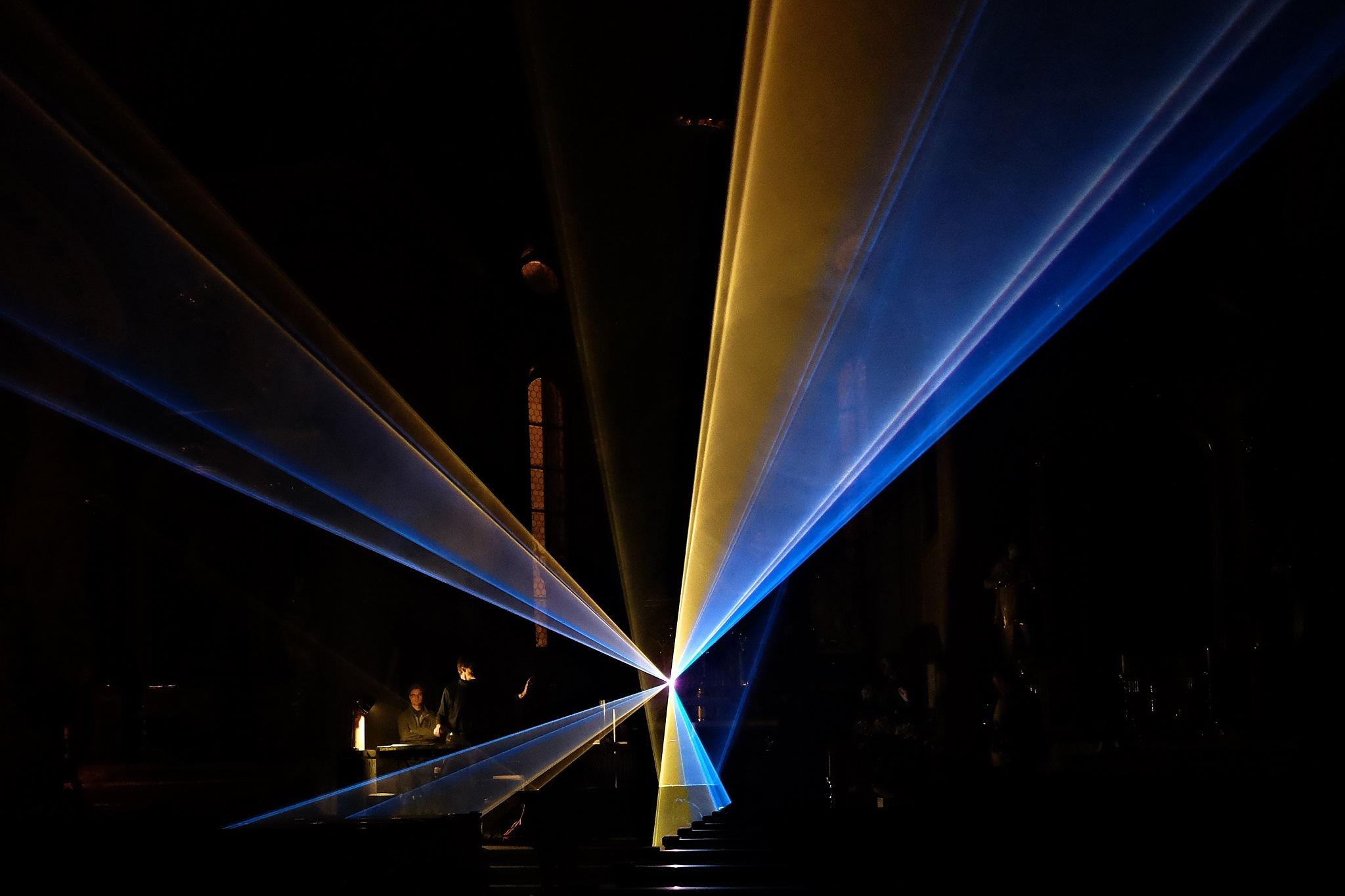 Laser Show by Raffaele Capozzi