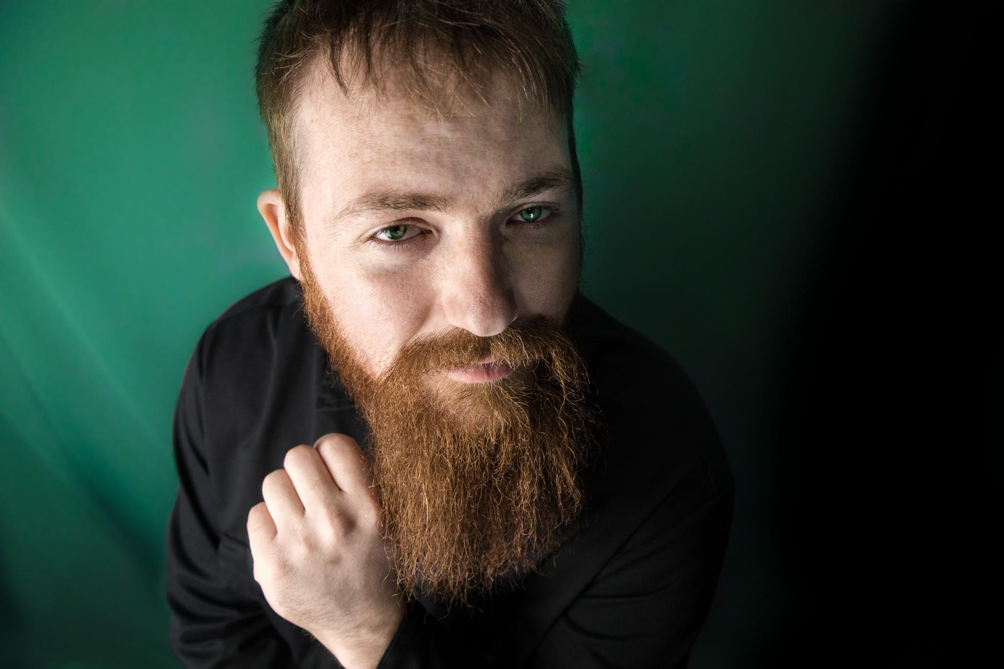 Green eyed man  by Shaun Preston McCabe