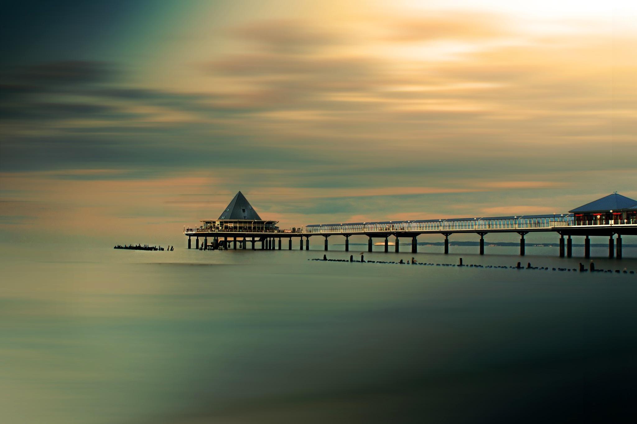 Seebrücke  by Anja