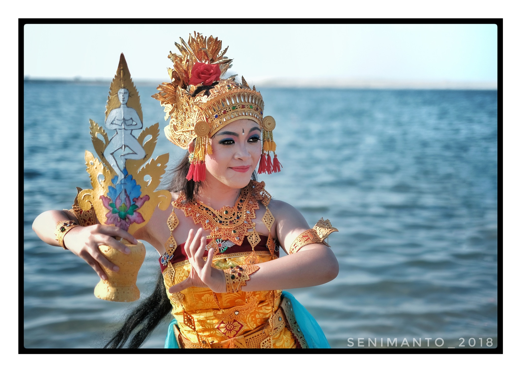 balinese dancer by s.n.m.n.t