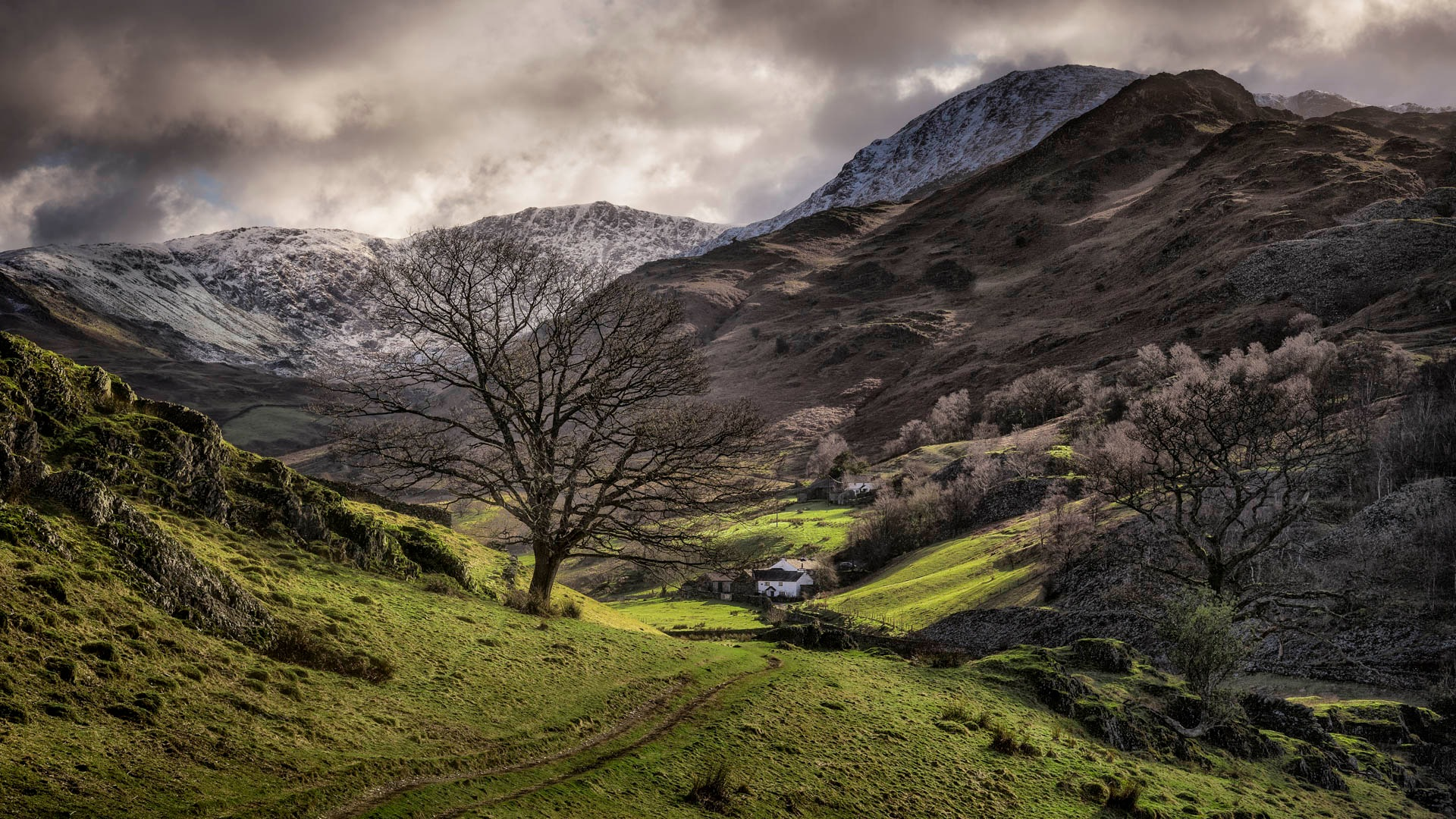 Cottage of the valley by Alan Ranger Photography
