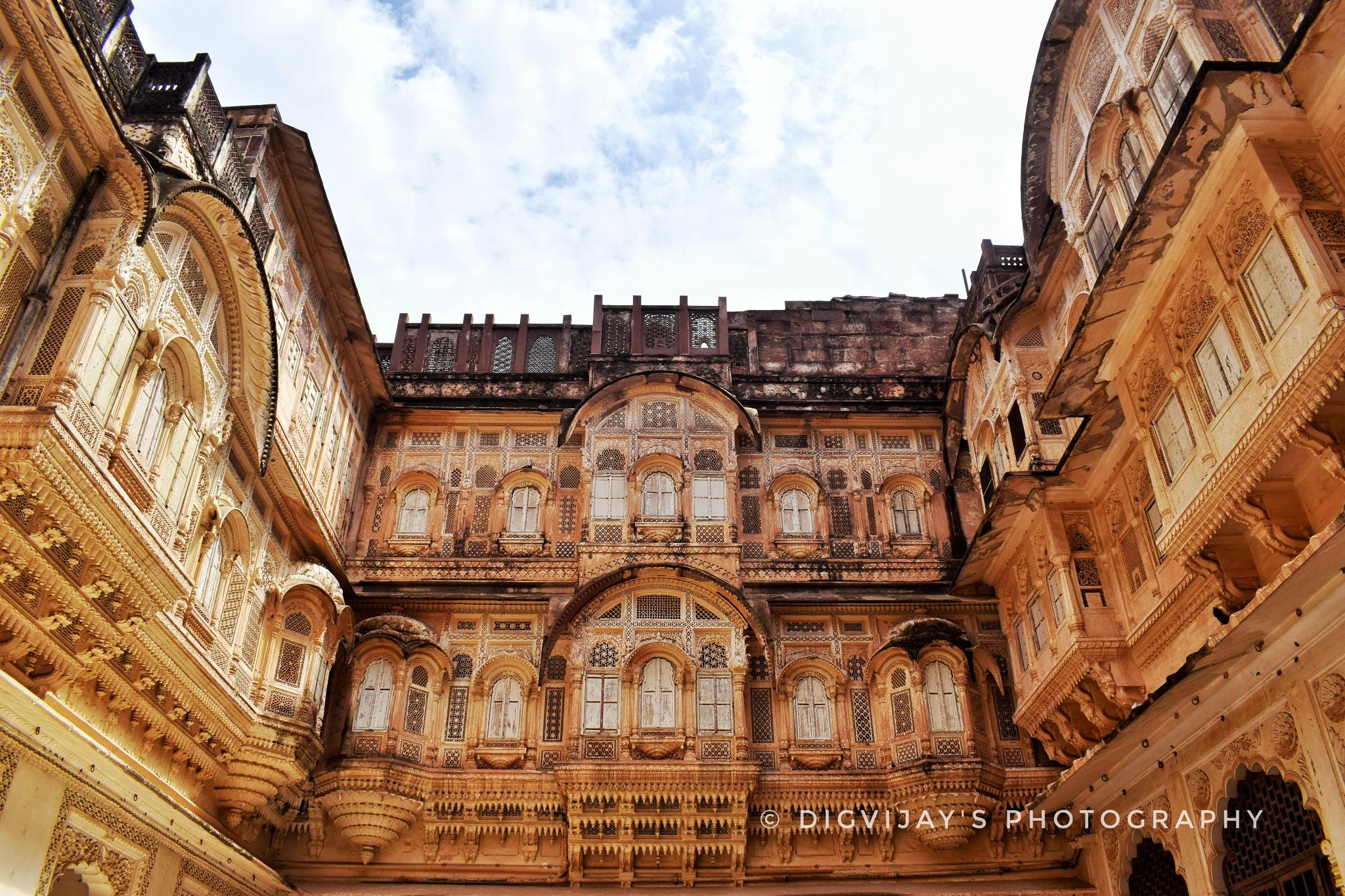 Heharangarh fort by Digvijay Khatri