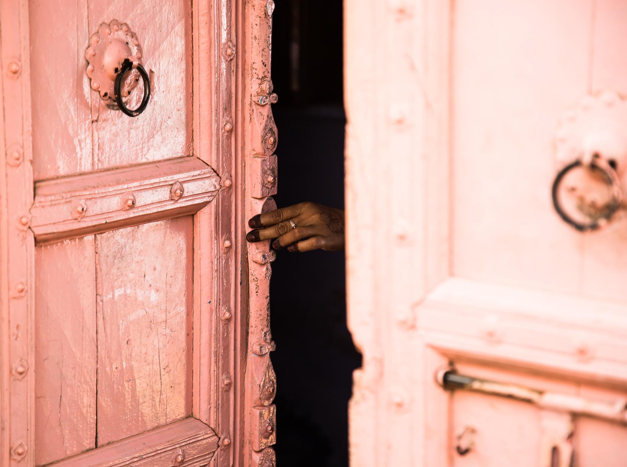 open the door by Saverio Nocentini