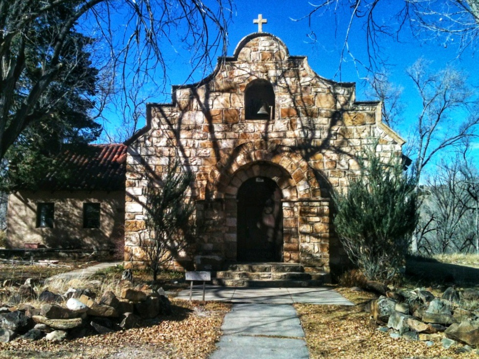 Fort Stanton Chapel, Lincoln County, New Mexico by Lisa A Manco