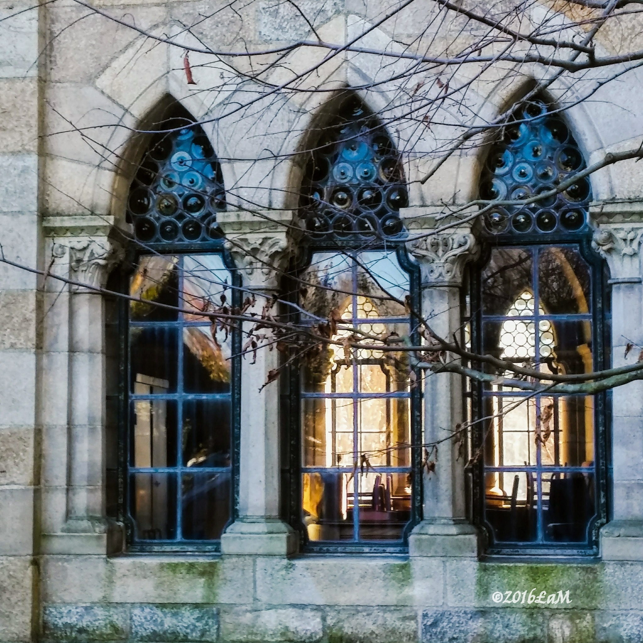 Bryn Athyn Cathedral by Lisa A Manco