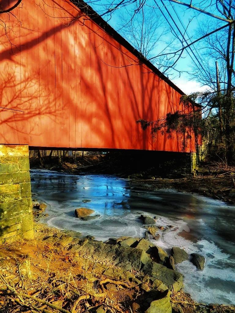 Covered Bridge  by Lisa A Manco