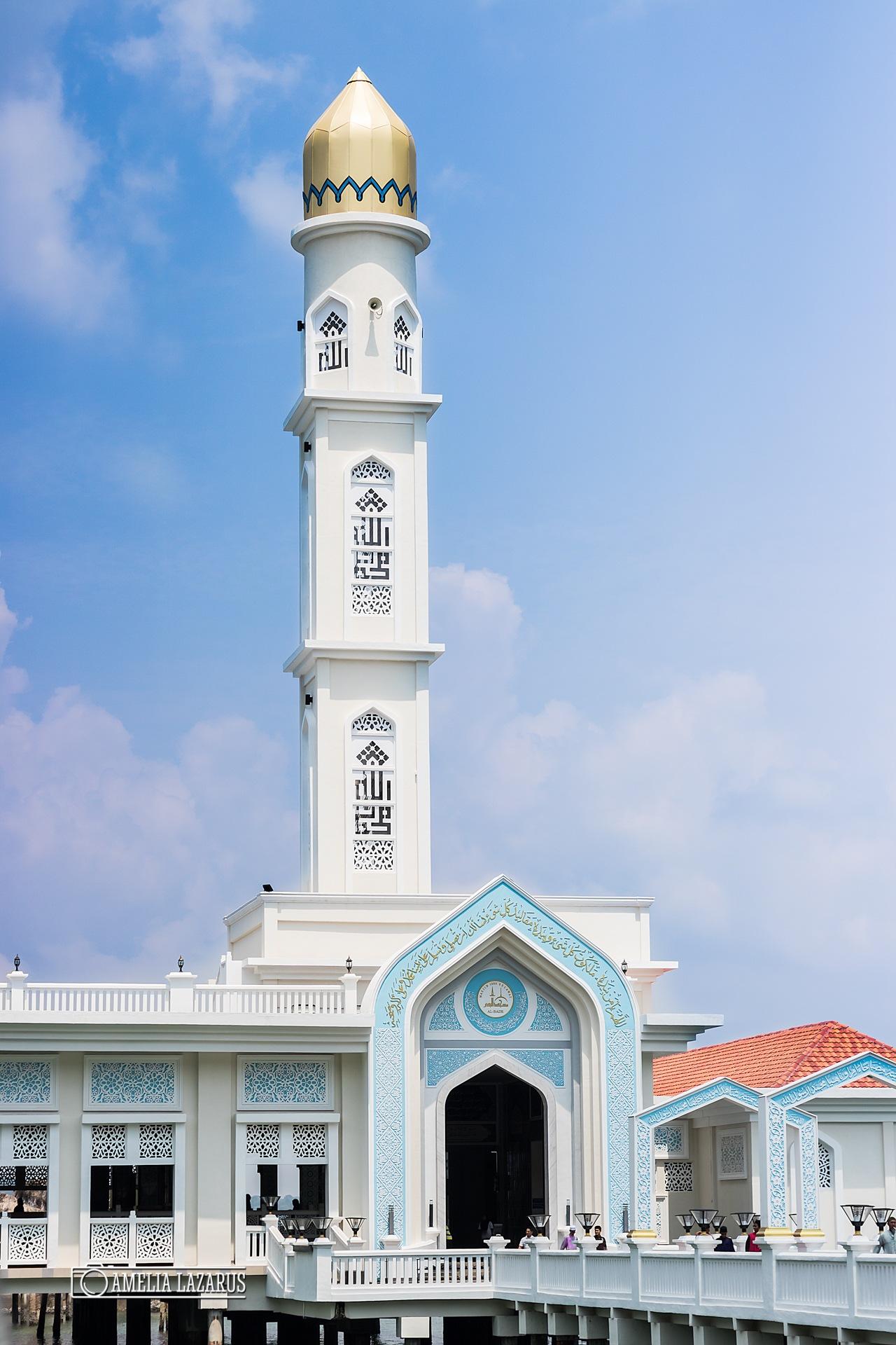Blue Mosque Pangkor Island by Amelia Lazarus