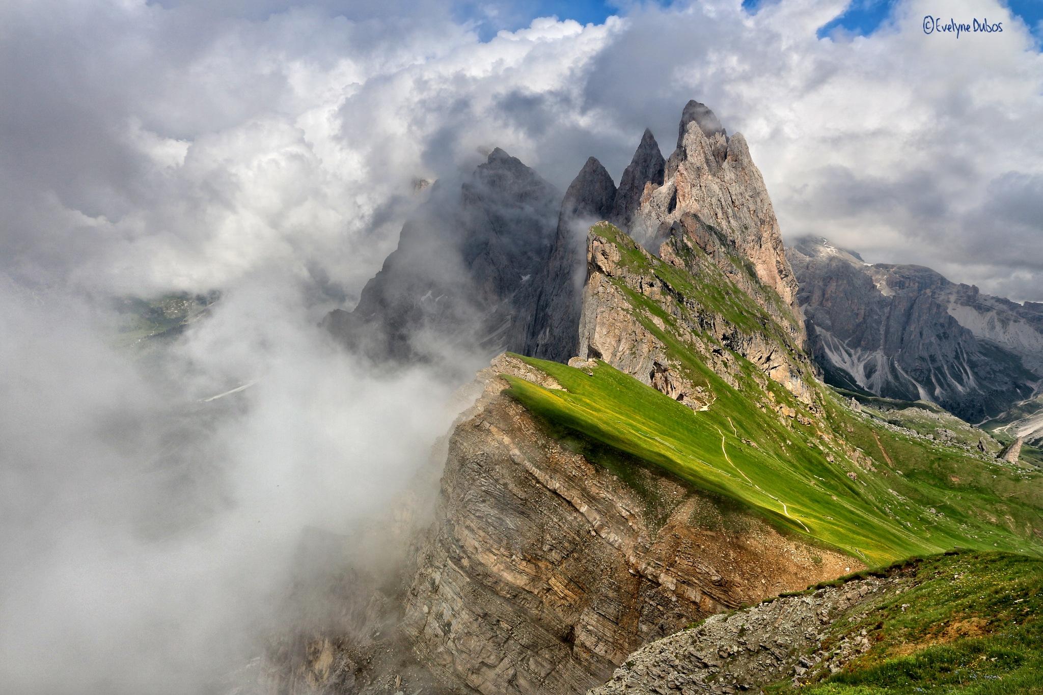 Dolomites. by Evelyne Dubos