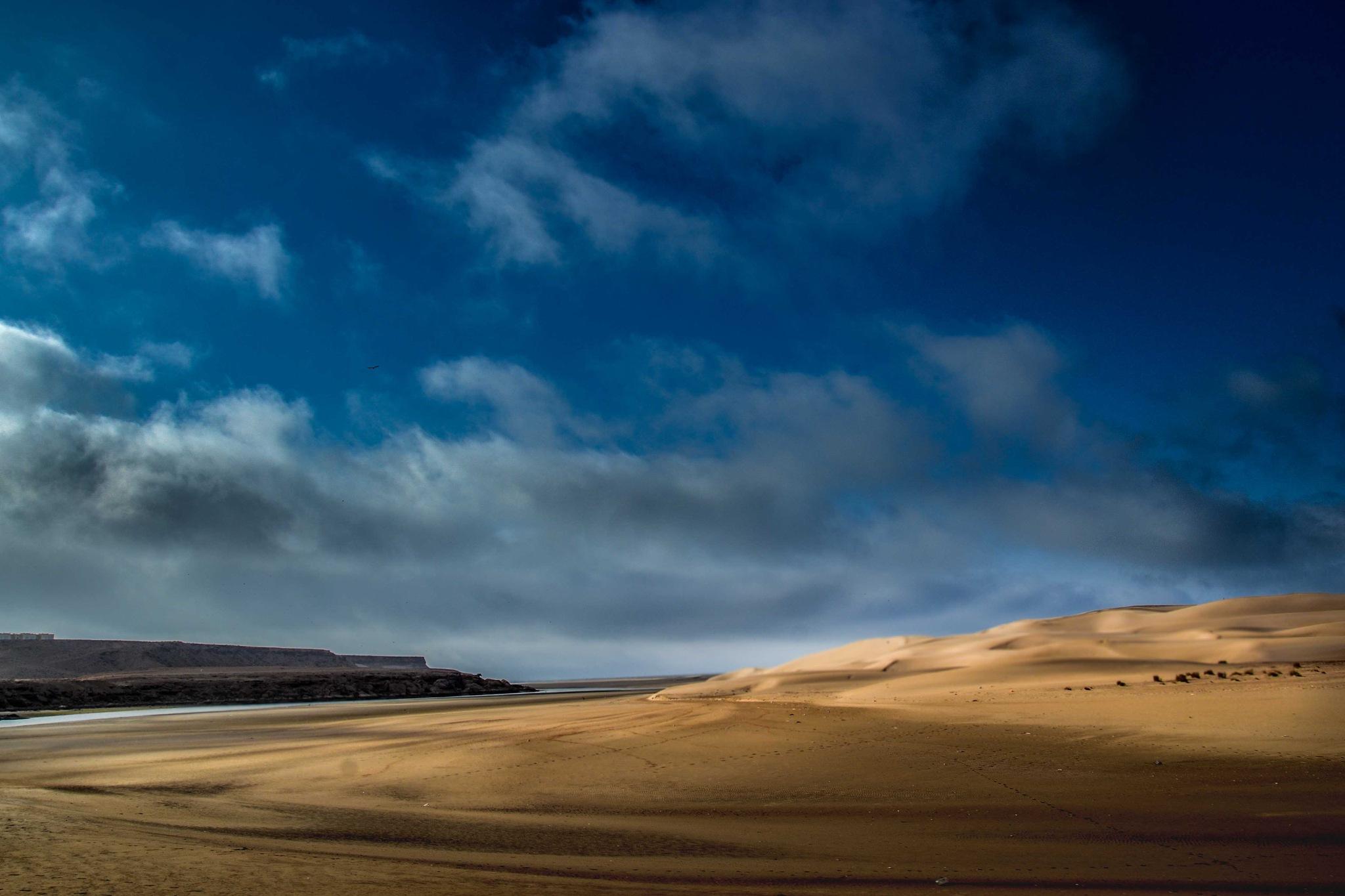 #desert by Mohcine Rabhi
