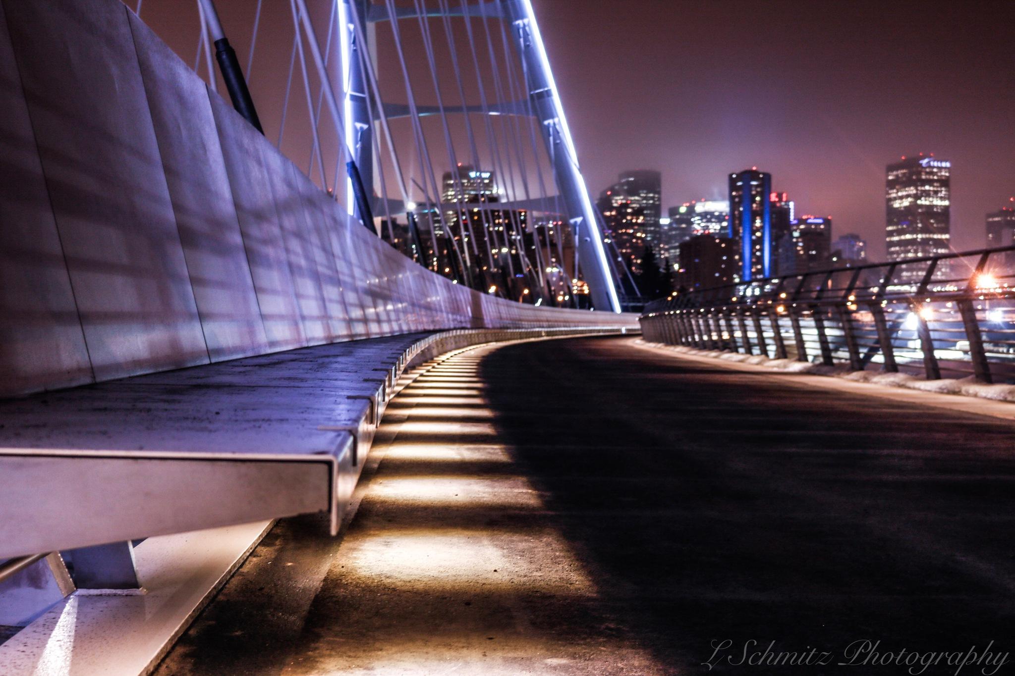 walterdale bridge by leif schmitz