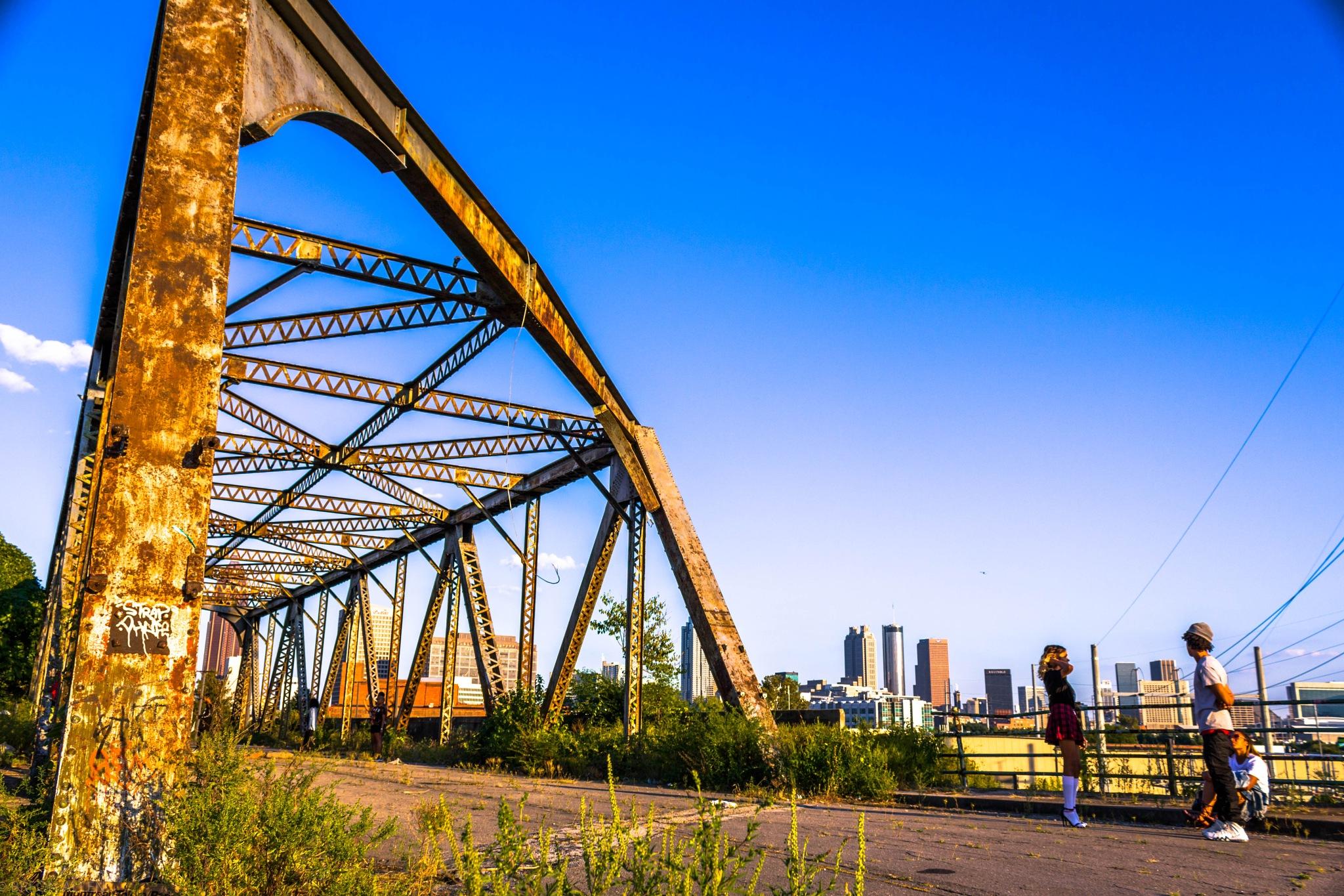 bridge to nowhere by Breon allen