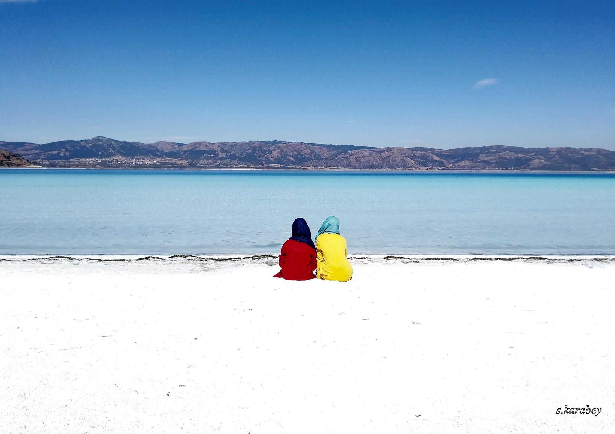 Salda Lake. BURDUR-TURKEY by Antalya Rental Cars