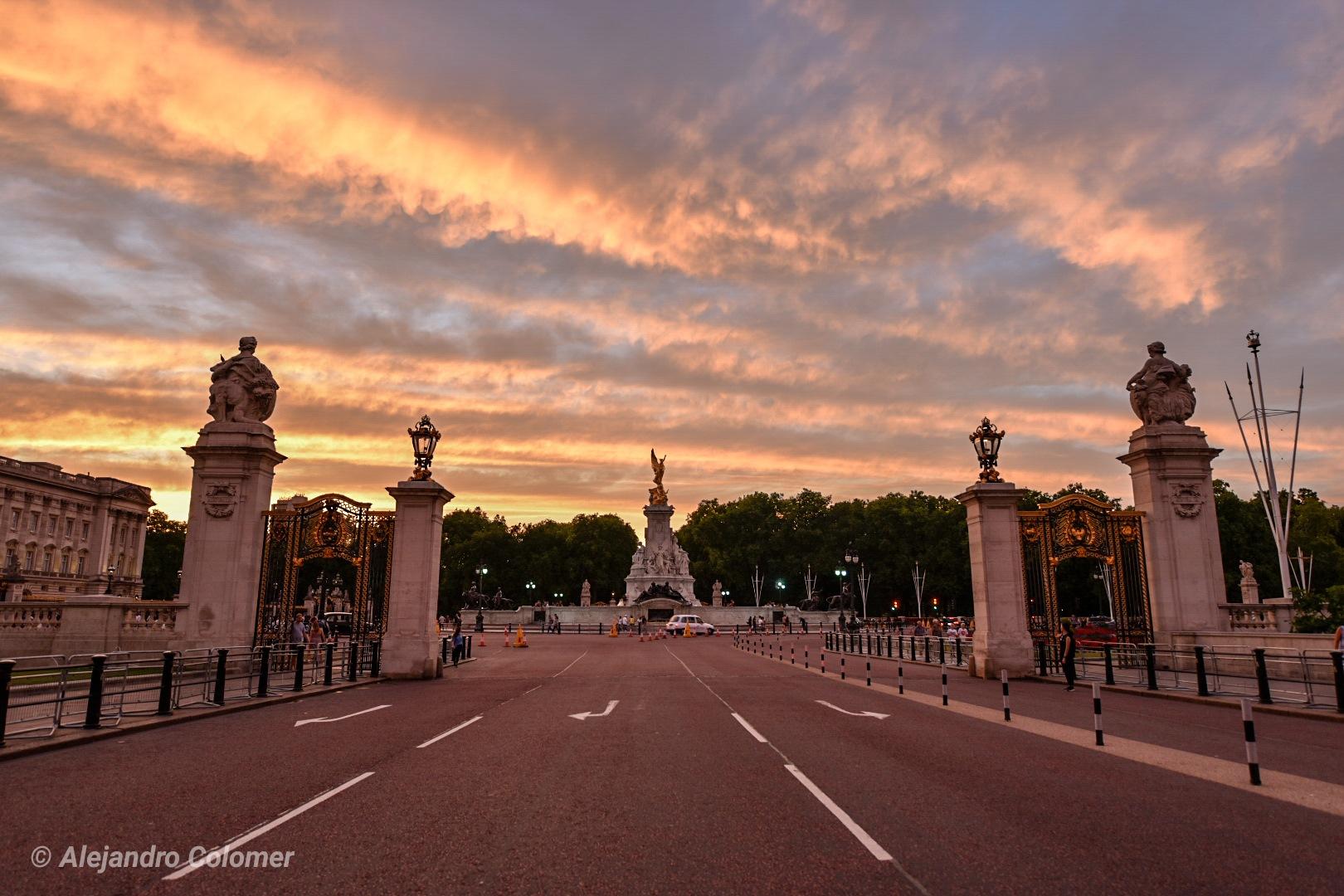 Buckingham Palace by Alejandro Colomer