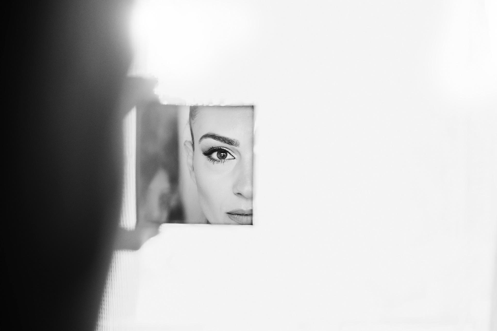 Eye reflection by arteditre