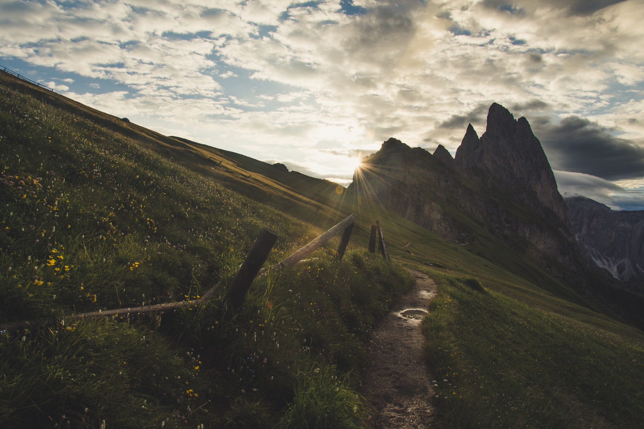 Sunrise at Seceda - South Tyrol by ujomux_dev