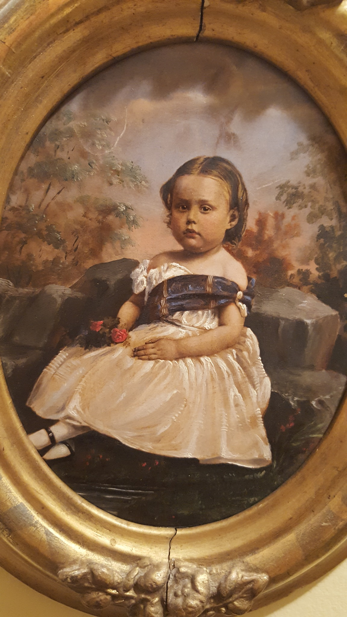 old oil painting 1890 by J B Armstrong