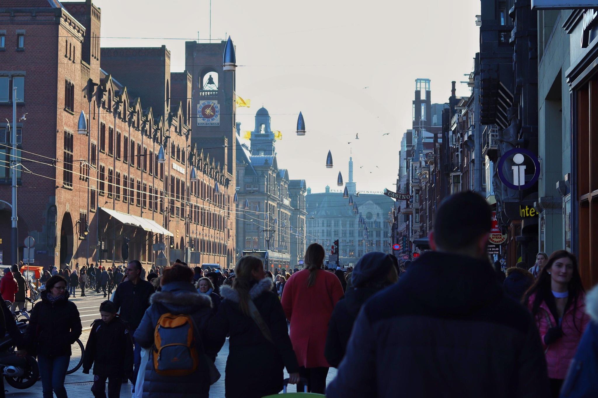 Nice scene of Amsterdam by Daniel Griffin