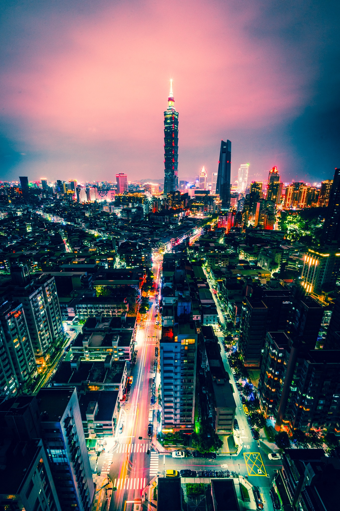 Whats your color of Taipei by Albert Chang