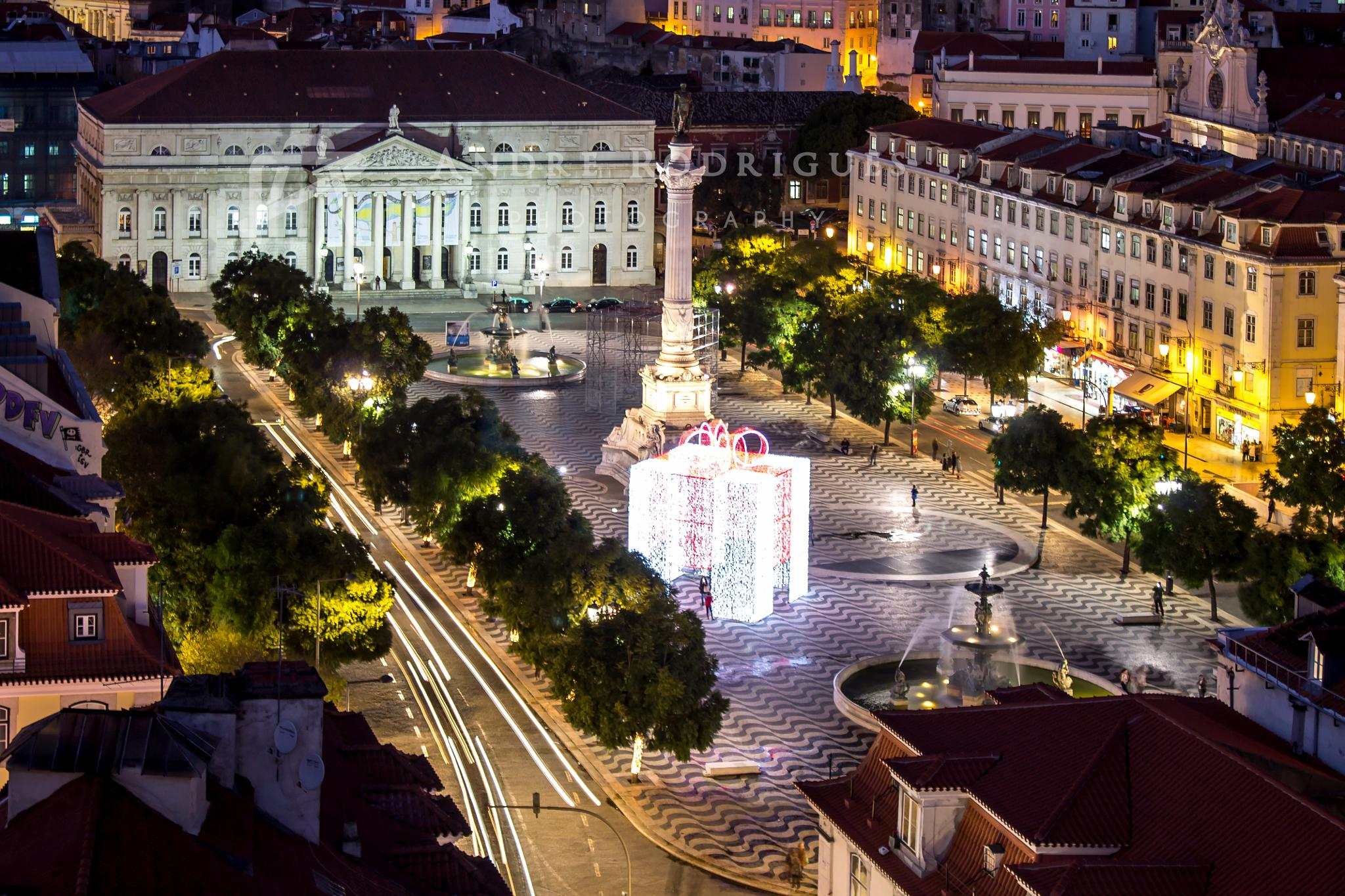 Lisbon, Rossio Square by André Rodrigues