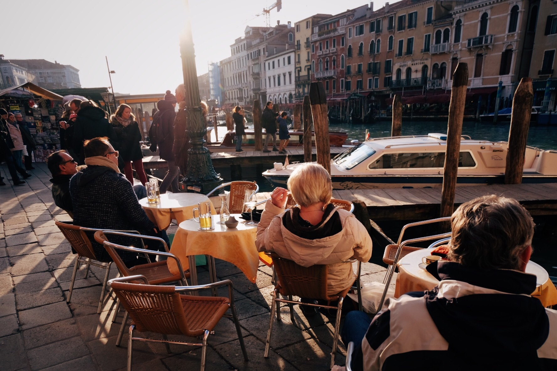 Happy hour in Venice  by Matteo Mancini