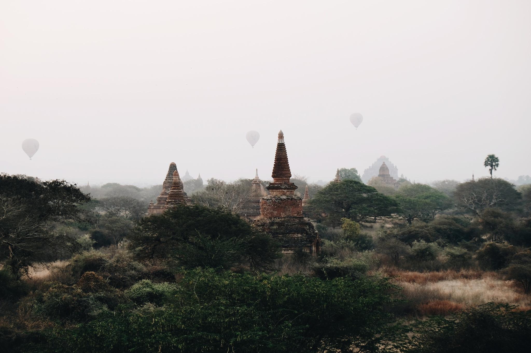 Old Bagan by zekazhu