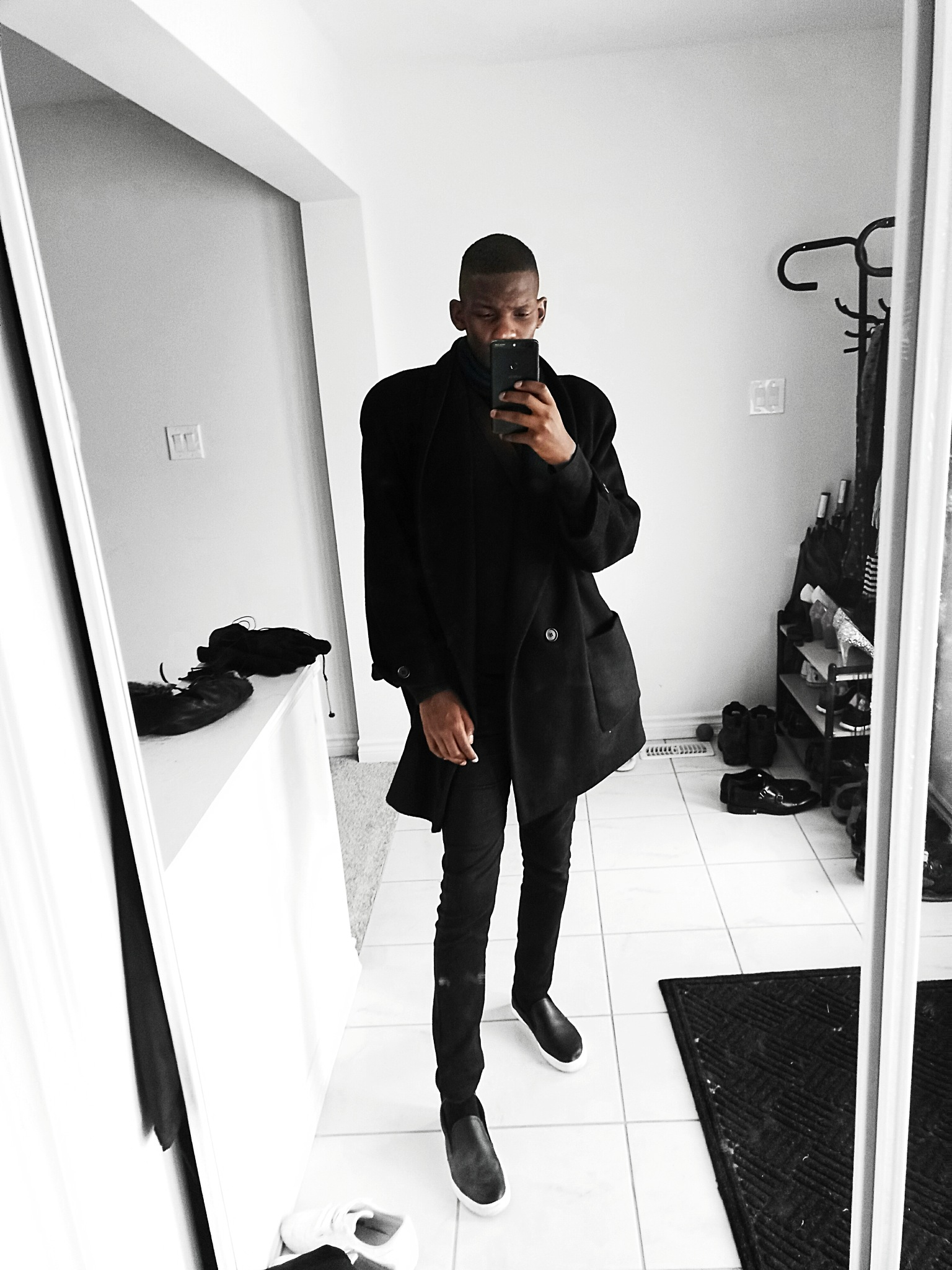 if I could wear black all year.  by FRED ANYONA