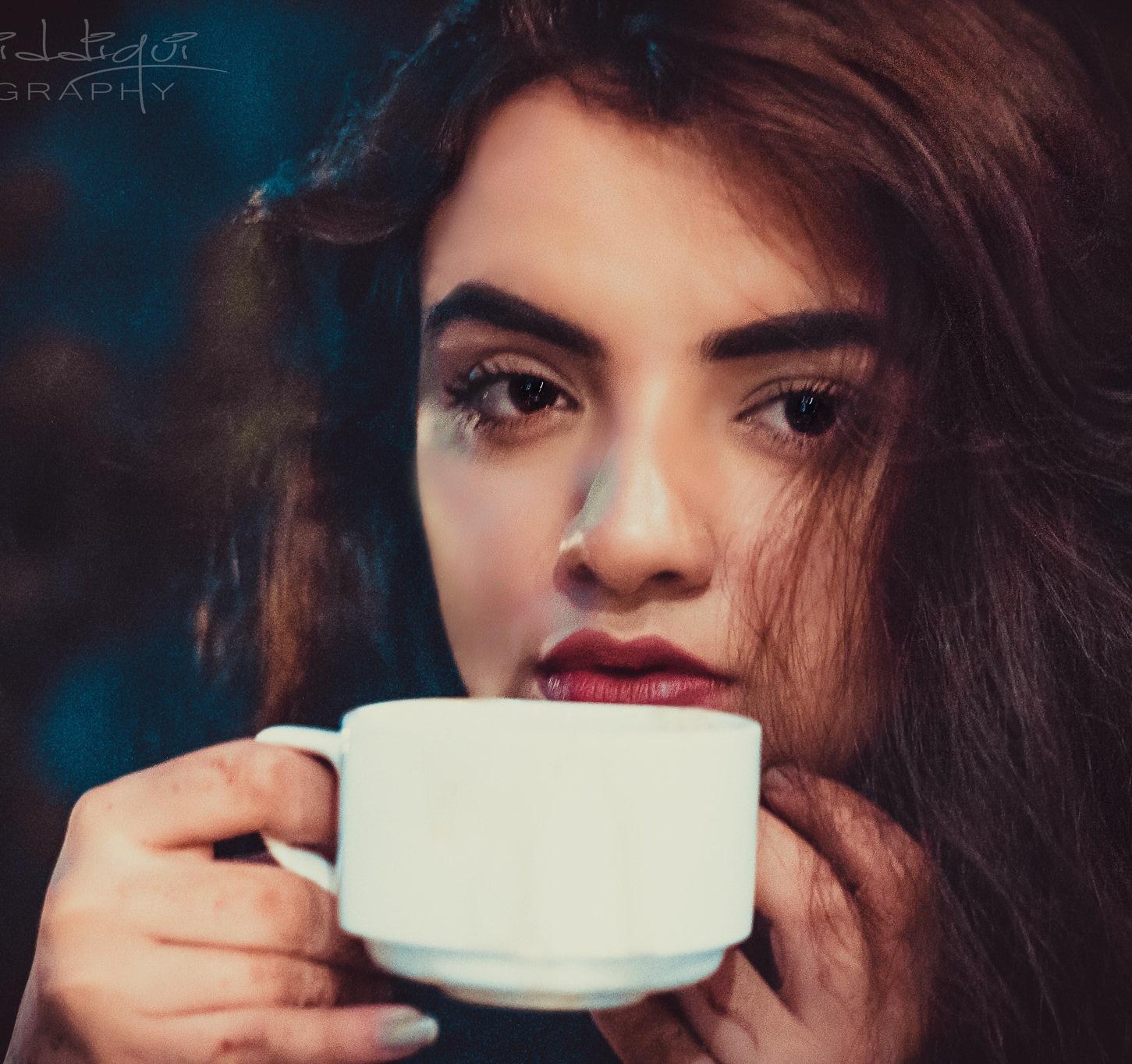 Beauty and Tea :) by Omer Siddiqui