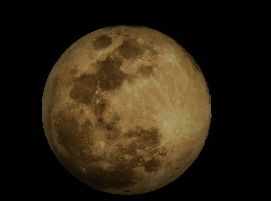 Moon from Nepal by Subash Tiwari